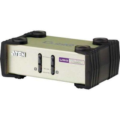 CS82U KVM Switch PS/2 oder USB2.0 Kabelsatz Aten USB, 2L-5203U Länge