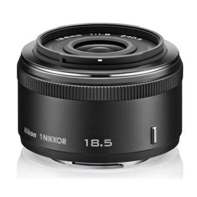 Nikon 1 NIKKOR 18,5mm f/1.8 Weitwinkel Festbrennweite Objektiv schwarz