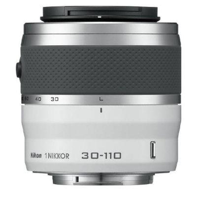 Nikon 1 NIKKOR VR 30-110mm f/3.8-5.6 Zoom Objektiv weiß