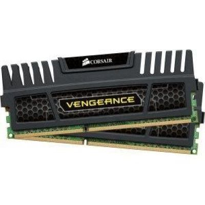 Corsair 16GB (2x8GB)  Vengeance DDR3-1600 CL9 (9-9-9-24) RAM DIMM - Kit