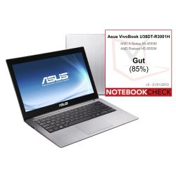 Asus VivoBook U38DT-R3001H Ultrathin Notebook Bild0