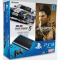 Sony PlayStation 3 SuperSlim 500GB + Uncharted 3 + Gran Turismo 5 Bild0