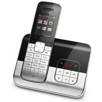 Telekom Sinus A806 schnurloses Festnetztelefon (analog) mit AB, schwarz