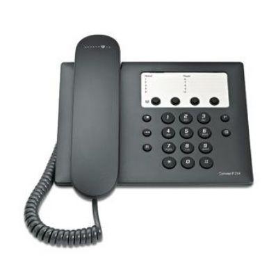 Telekom Concept P214 schnurgebundenes Festnetztelefon, schwarz - Preisvergleich