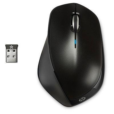 HP X4500 Drahtlose Maus (H2W26AA) metallic-schwarz