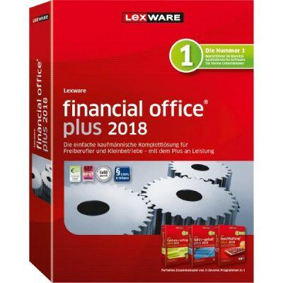 Lexware financial office plus 2018 Jahresversion (365-Tage), Minibox - broschei