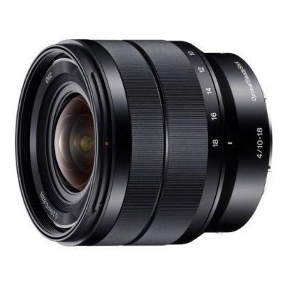 Sony E 10 - 18 mm F4 OSS, Objektiv