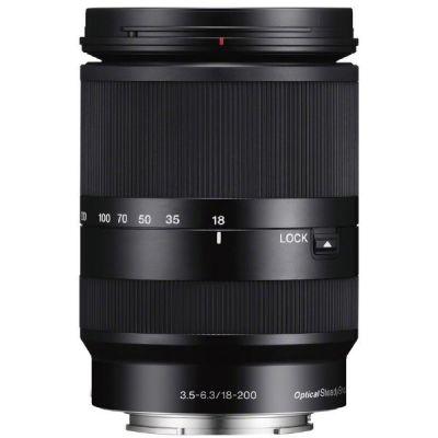 Sony E 18-200mm f/3.5-6.3 OSS E-Mount (SEL-18200LE) Reise Zoom Objektiv