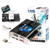 HIS Radeon HD 6670 Fan 1GB GDDR5 PCIe DP/2xDVI/HDMI  - Retail
