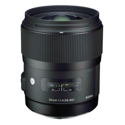 Sigma 35mm f/1.4 DG HSM Portrait Festbrennweite Objektiv für Nikon