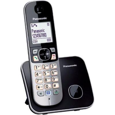 Panasonic KX-TG6811GB schnurgebundenes Festnetztelefon (analog), schwarz