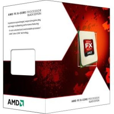 AMD  Black Edition -  FX 6350 - 3.9 GHz - 6-Core - 6 Threads - 8 MB Cache-Speicher - Socket AM3+ - Box
