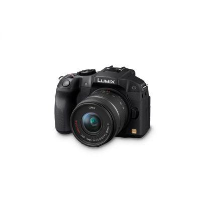 Lumix DMC-G6 Kit G Vario 14-42mm Systemkamera schwarz