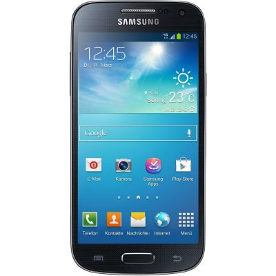 Samsung GALAXY S4 mini i9195 8GB black Android Smartphone GT-I9195ZKADBT