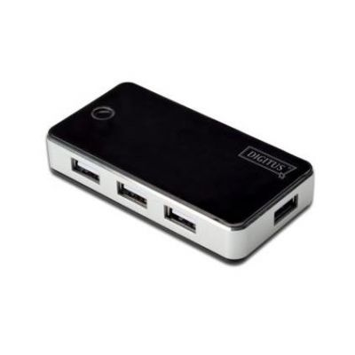 Digitus 7-Port USB 2.0 Hub, USB-Hub