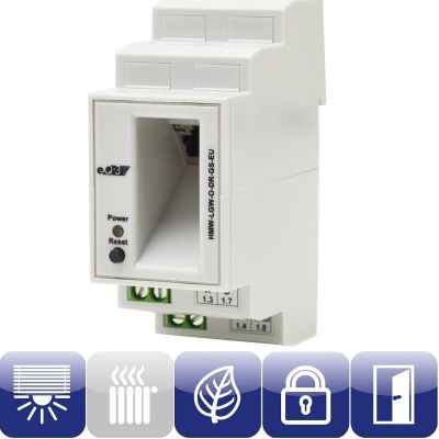 HomeMatic 103755 Wired RS485 LAN Gateway Hutschienenmontage HMW-LGW-O-DR-GS-EU