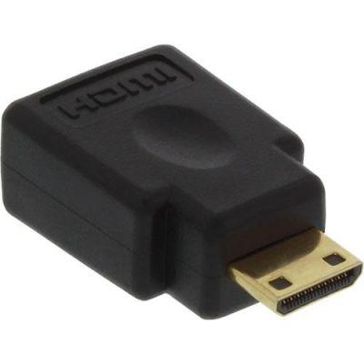 InLine HDMI Adapter HDMI A Bu./ Mini HDMI C St. vergoldete Kontakte
