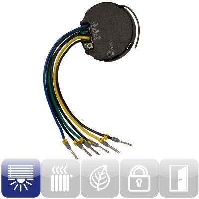 HomeMatic 76785 Funk-Schalterschnittstelle 3-fach Unterputzmontage HM-SwI-3-FM