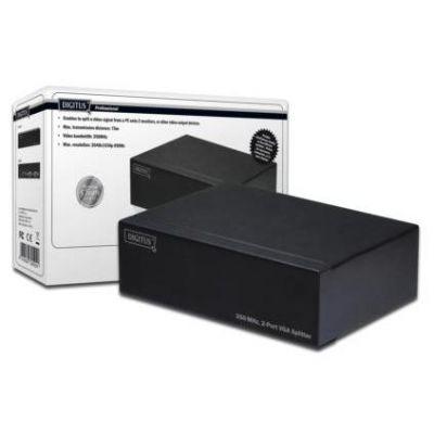 DIGITUS DS-41100 VGA Splitter 350MHz 2-Port