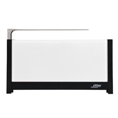 volcano 5 Langschlitz-Toaster mit Glasfronten weiß