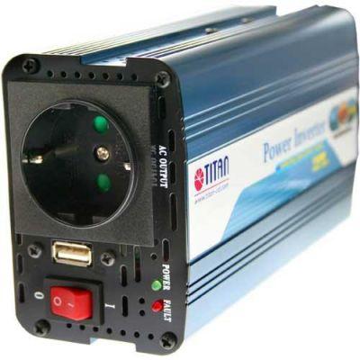 Universal AC/DC Spannungswandler 12V auf 230V 150W Titan HW-150V6
