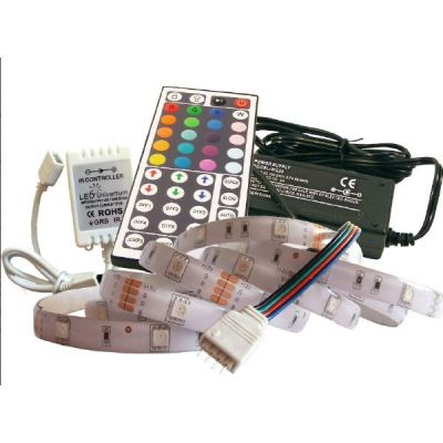 sonstige 2 m RGB LED Streifen Set(30 LED/m, IP65) inkl. Controller