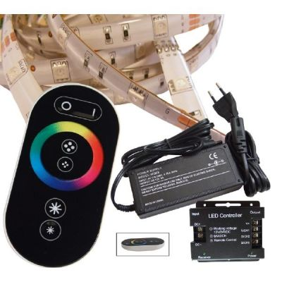sonstige 2 m RGB LED Streifen Set(30 LED/m, IP65) inkl. Funkfernbedienung