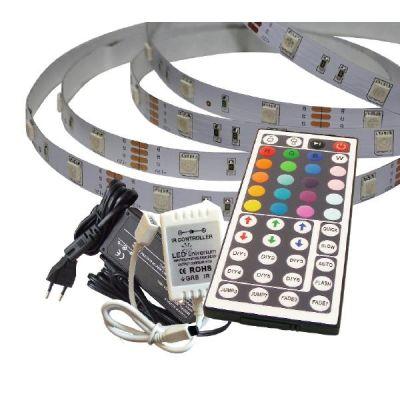 sonstige 2 m RGB LED Streifen Set(30 LED/m, IP20) inkl. Controller