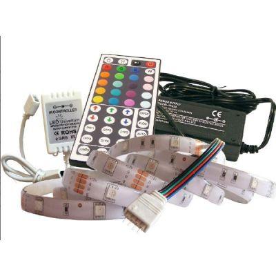 sonstige 10 m RGB LED Streifen Set(30 LED/m, IP65) inkl. Controller