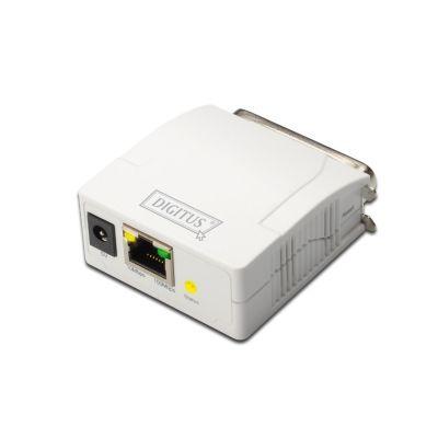 Digitus ASSMANN DN-13001-1 - Druckserver - parallel - 10/100 Ethernet