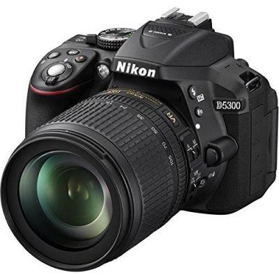 Nikon . D5300 Kit AF-S DX 18-105mm VR Spiegelreflexkamera schwarz