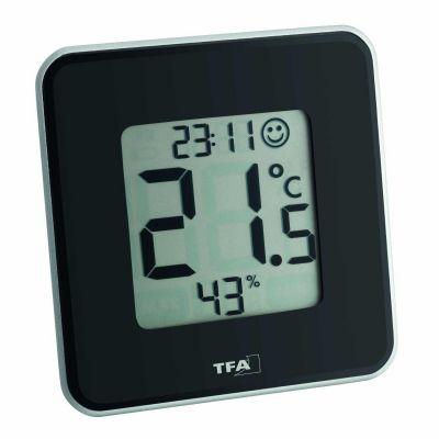 TFA 30.5021.01 Style Digitales Thermo-Hygrometer schwarz - Preisvergleich
