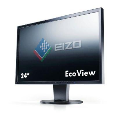 """EIZO  EV2416WFS3-BK 61 cm (24"""") Flexscan Monitor mit Pivot und Lautsprecher"""