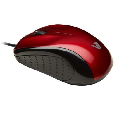 V7 optische LED Maus rot
