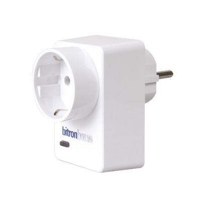 Bitronhome bitronvideo Smart Plug Funk-Steckdose mit Verbrauchsdatenerfassung 16A