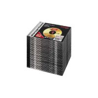 Hama CD Leerhülle Slim Case 50er Pack transparent/ schwarz