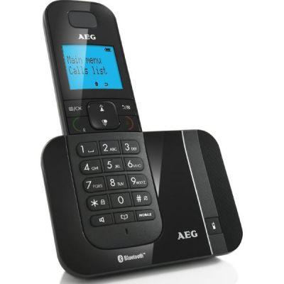 Voxtel D550BT schnurloses Festnetztelefon (analog) mit Bluetooth, schwarz