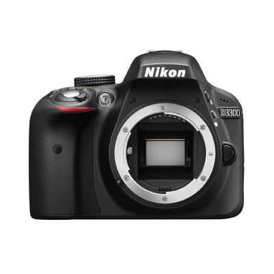 Nikon D3300 Gehäuse Spiegelreflexkamera schwarz