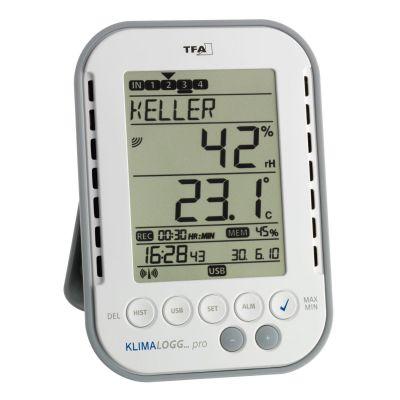 TFA 30.3039 Hygrologg Pro Profi-Thermo-Hygrometer - Preisvergleich