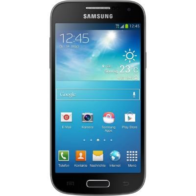 Samsung GALAXY S4 mini i9195 8GB deep-black Android Smartphone GT-I9195DKYDBT