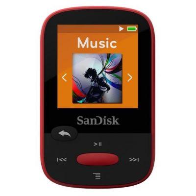 Clip Sport MP3 Player 4GB rot