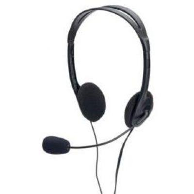 ednet Multimedia Headset Stereo Kopfhörer mit Mikrofon