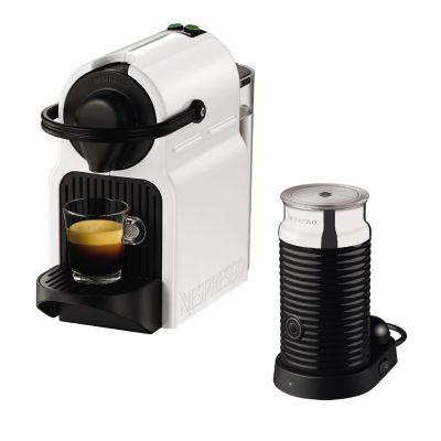 Krups  Nespresso XN1011 Inissia Bundle White mit Aeroccino