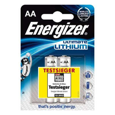 Energizer 1x2 ENERGIZER Ultimate Lithium Mignon AA LR 6 1,5V