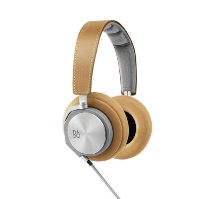 Bang Olufsen B&O PLAY BeoPlay H6 Over Ear Kopfhörer mit Headsetfunktion - Naturfarben