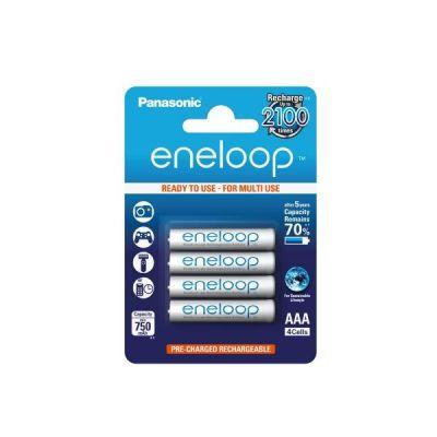 Panasonic Eneloop Akku Micro AAA HR3 4er Blister (750 mAh) - Preisvergleich