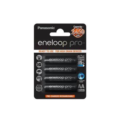 Panasonic 1x4  Eneloop Pro Mignon AA 2450 mAh