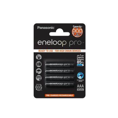 Panasonic 1x4  Eneloop Pro Micro AAA 900 mAh