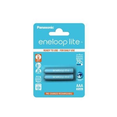 Panasonic Eneloop Lite Akku Micro AAA HR3 2er Blister (550 mAh) - Preisvergleich
