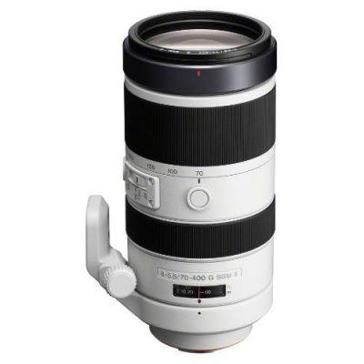 Sony 70-400mm f/4-5.6 G SSM II (SAL-70400G2) Tele Zoom...
